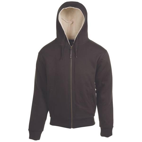 Men's Sherpa Lined Hooded Jacket
