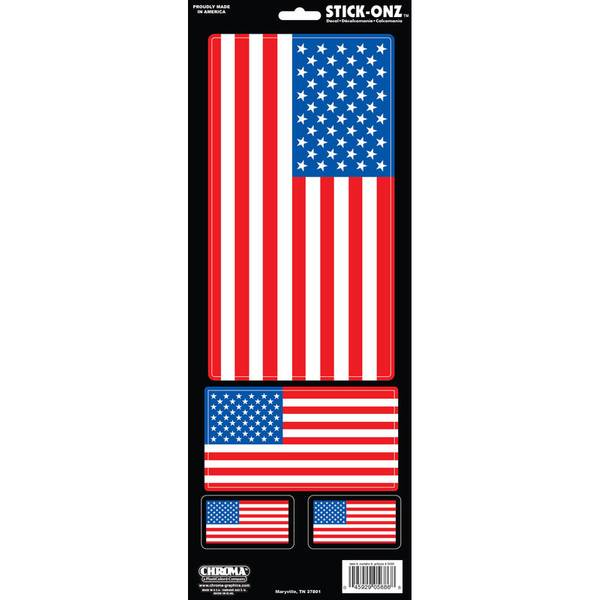 American Flag Stick-Onz Decal
