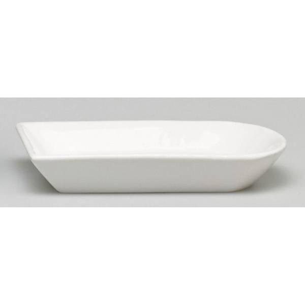 Moda At Home White Ceramic Soap Dish