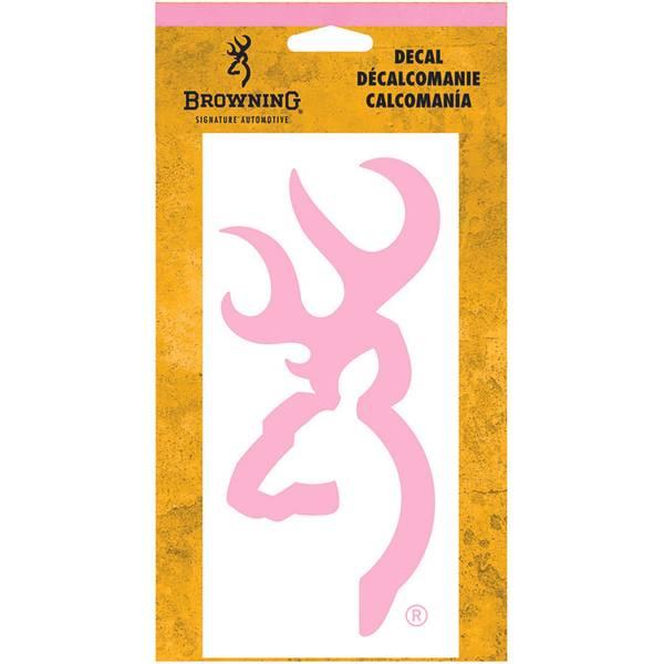 Pink Buckmark Decal