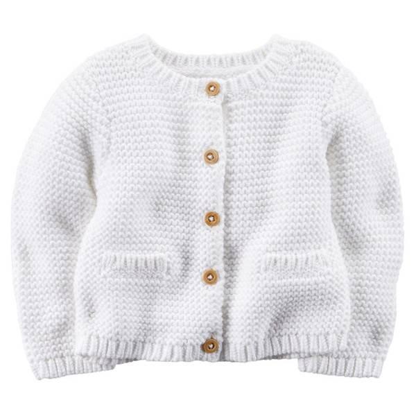 Baby Girls' Knit Cardigan