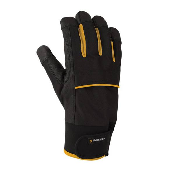Men's Black & Yellow Flexer High Dexterity Gloves