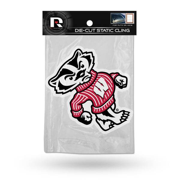 University of Wisconsin Badgers Static Cling Window Decal