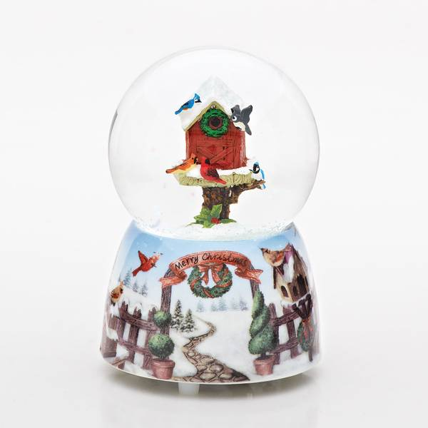 "4.75"" Musical Birdhouse Dome"