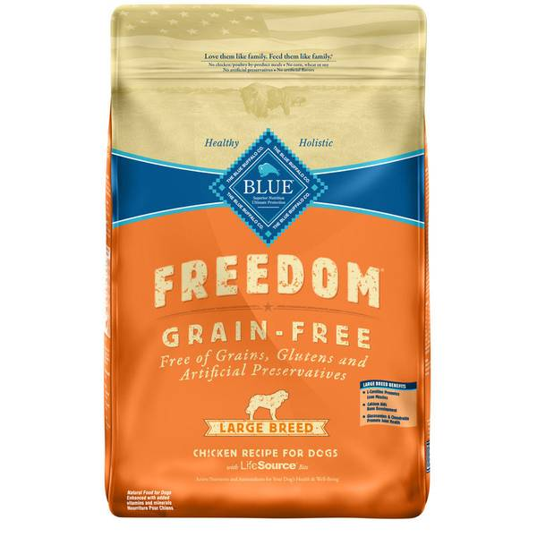 Freedom Grain Free Chicken Recipe Large Breed Dry Dog Food