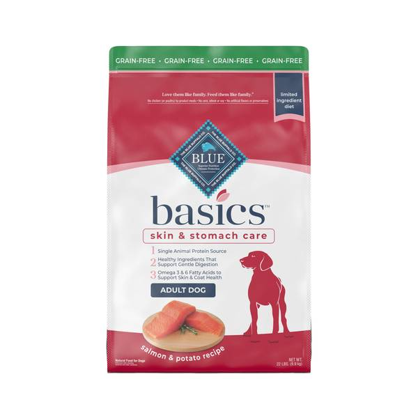 Basics Limited Ingredient Grain Free Diet Salmon Dog Food