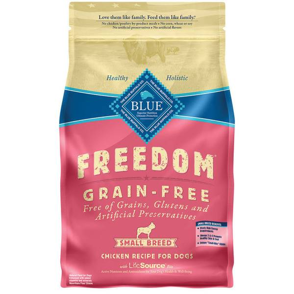 4 lb Freedom Grain Free Dry Small Breed Dog Food