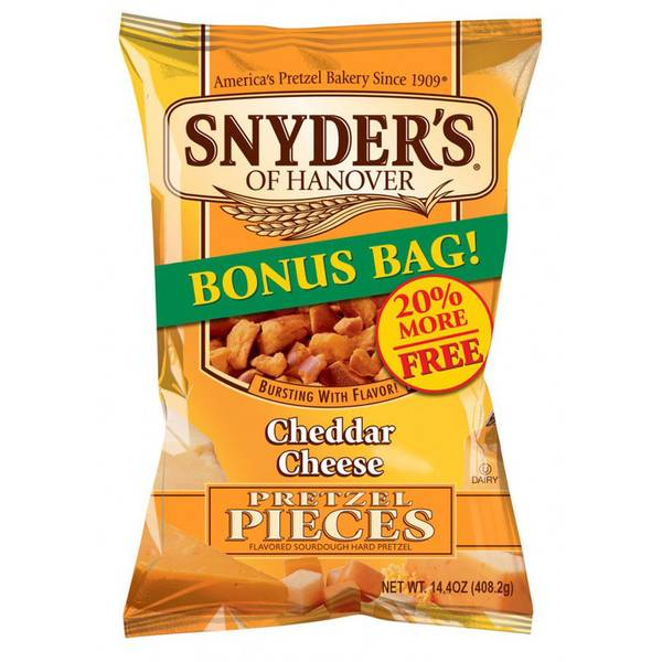 Cheddar Cheese Pieces Bonus Bag