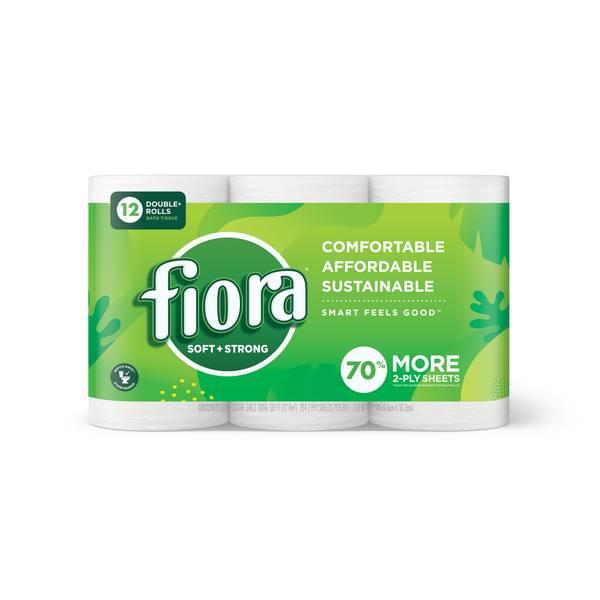 Fiora Unscented Bath Tissue