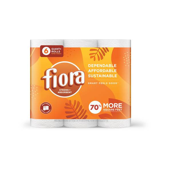 Fiora Kitchen Paper Towels 6 Pack