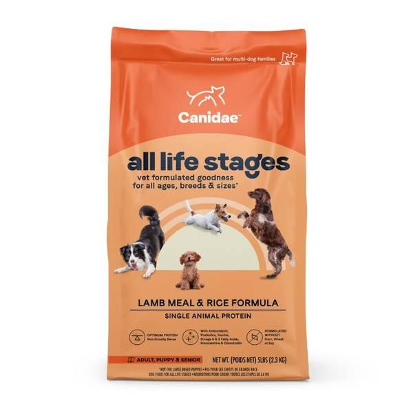 Life Stages Lamb Meal & Rice Formula Dog Food