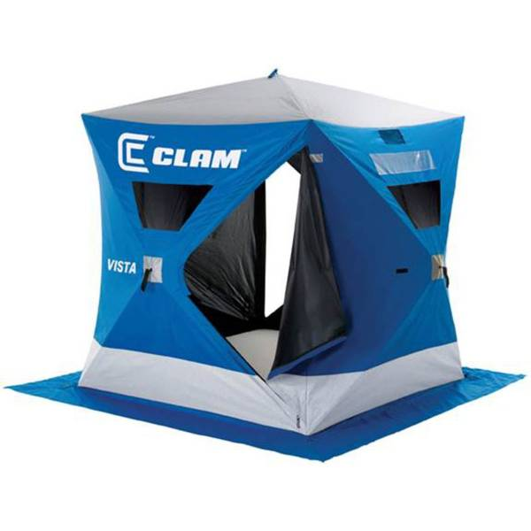 Clam vista ice fishing shelter at blain 39 s farm fleet for Fleet farm ice fishing