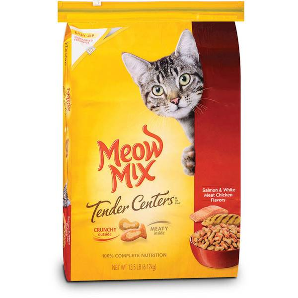 Tender Centers Salmon & White Meat Chicken Cat Food