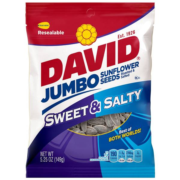 Sweet & Salty Jumbo Sunflower Seeds