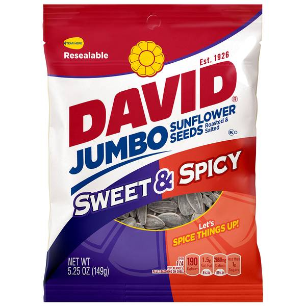 Sweet & Spicy Jumbo Sunflower Seeds