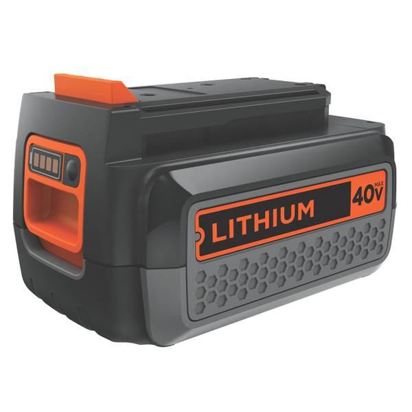 Black decker lithium ion battery for Avantage batterie lithium ion