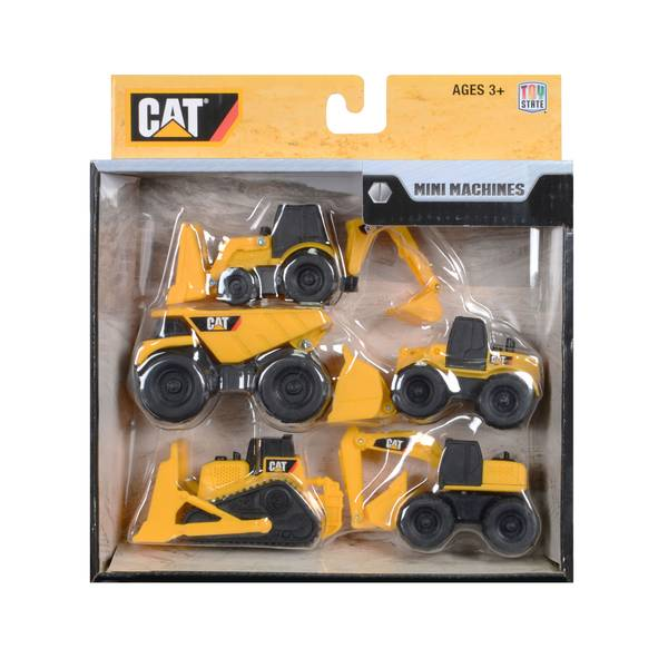 CAT Mini Machines 5-Pack Assortment