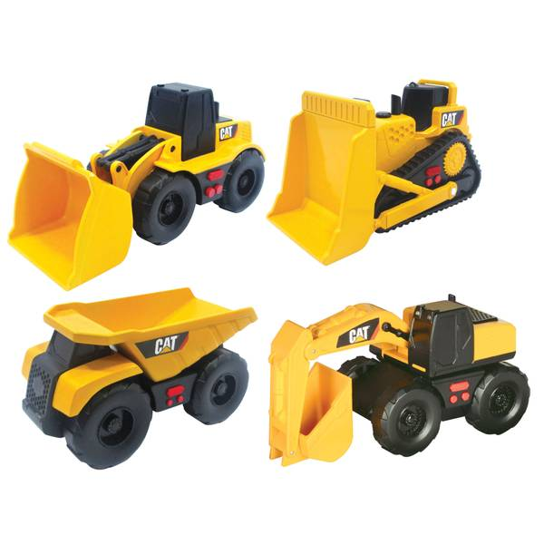 CAT Mini Mover Construction Vehicle Toy Assortment