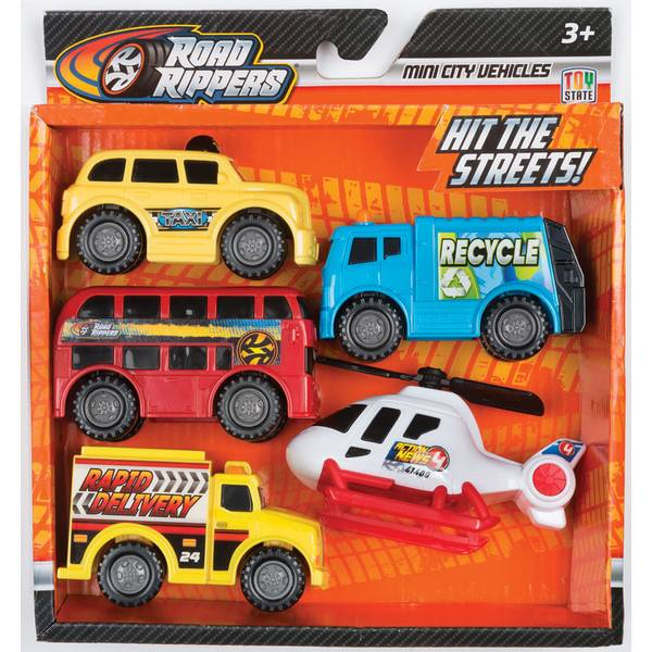 Mini City Transport Vehicle - 5 Pack