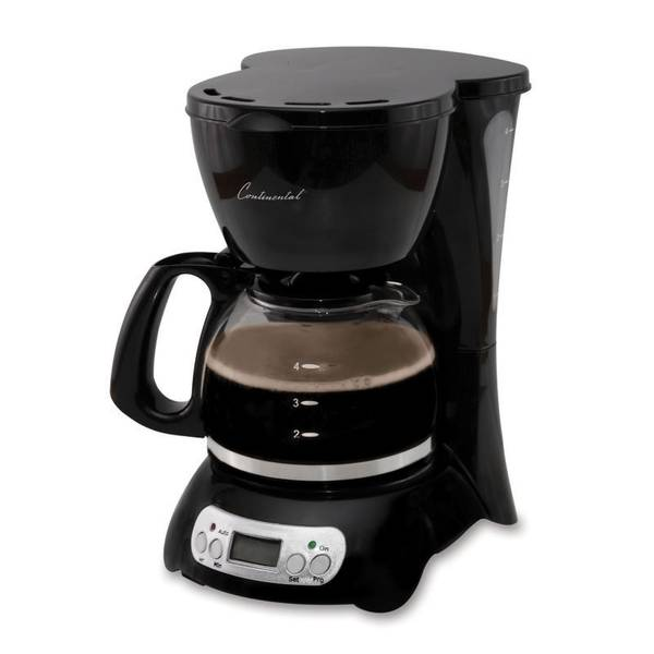 Electric Coffee Maker Parts : Continental Electric Digital Coffee Maker