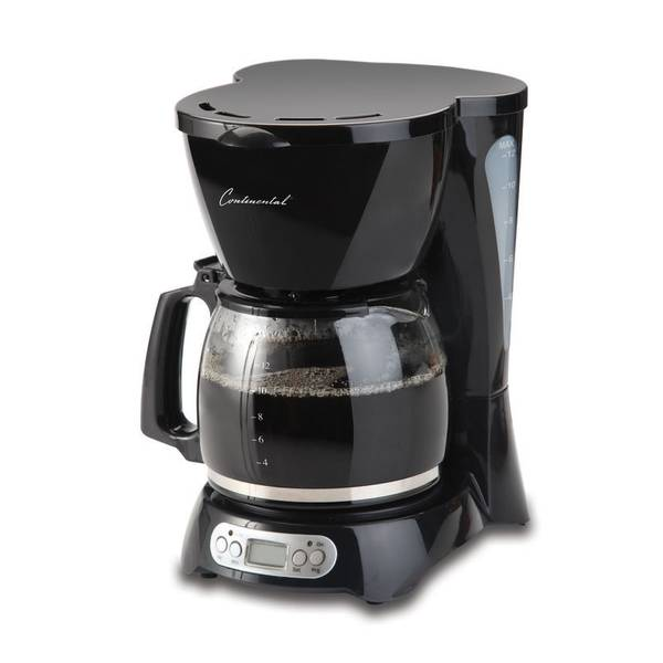 Continental Electric Coffee Maker Directions : Continental Electric Digital Coffee Maker