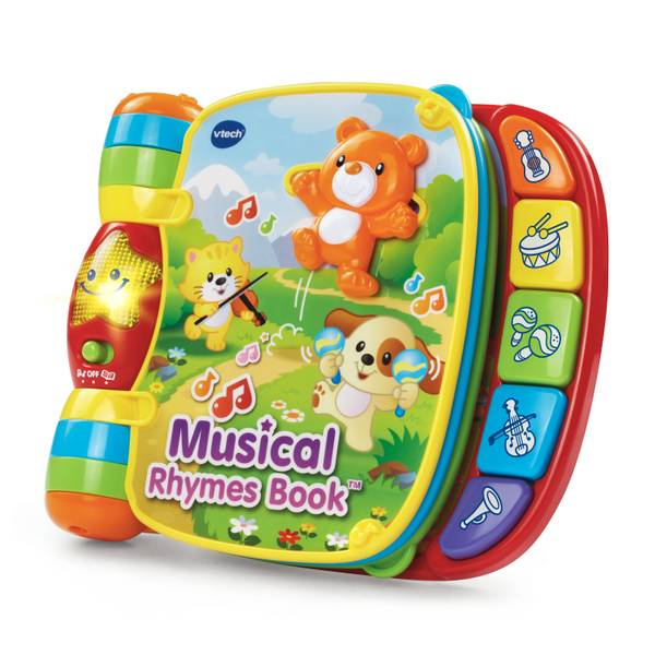 Musical Rhyme and Discover Book