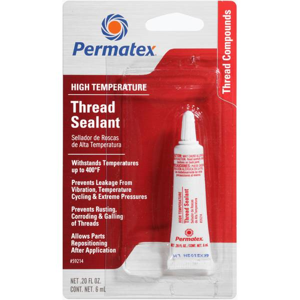 permatex high temperature thread sealant. Black Bedroom Furniture Sets. Home Design Ideas