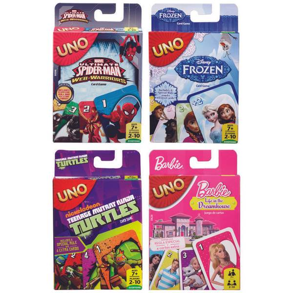 UNO Kids Card Game Assortment