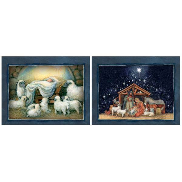 Nativity Assorted Boxed Chirstmas Cards