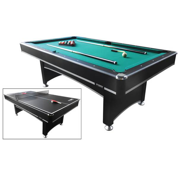 Phoenix Pool Table With Table Tennis Top