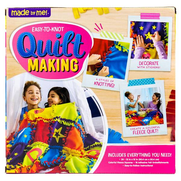 Easy To Knot Quilt Making Kit