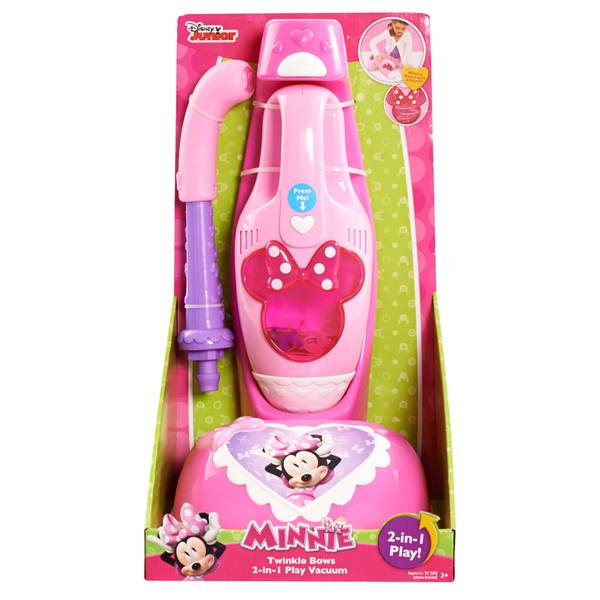 Minnie Mouse 2-in-1 Toy Vacuum