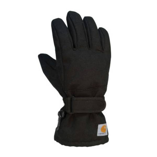 Boy's Black Duck Gloves