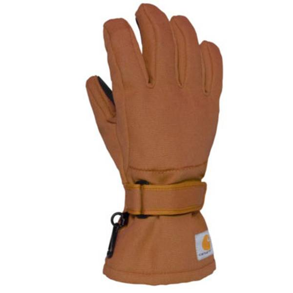 Youth Carhartt Insulated Duck Gloves