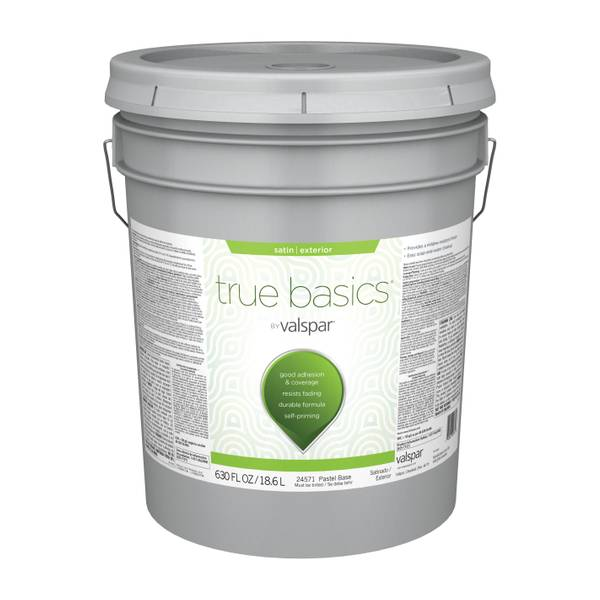 Valspar True Basics Exterior Satin Latex Paint