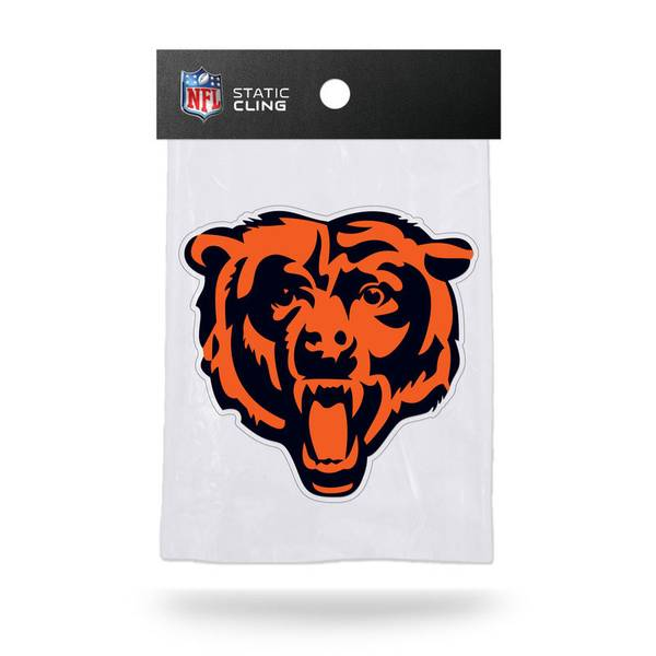 Chicago Bears Static Cling Window Decal