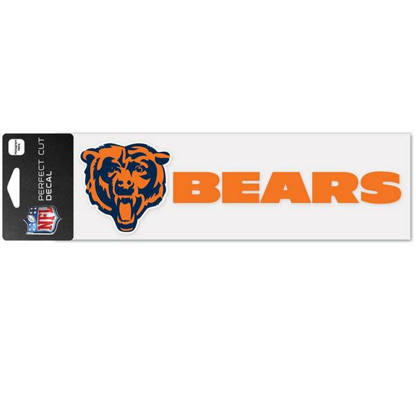 Chicago Bears Perfect Cut Decal
