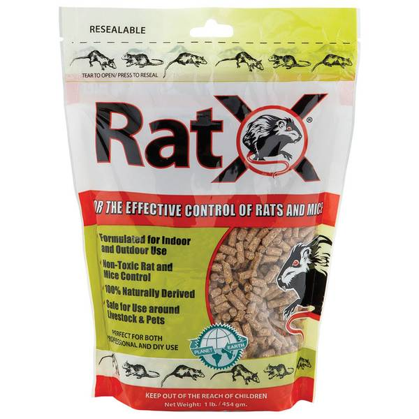 Non-Toxic Mice and Rat Bait - 1lb Bag