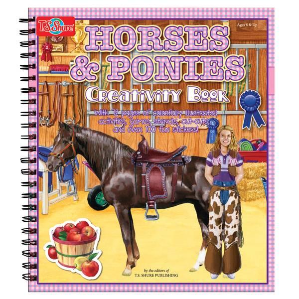 Horse & Ponies Creativity Book
