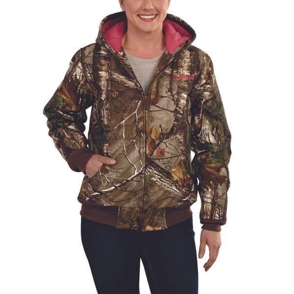 Women's Camouflage Active Jacket