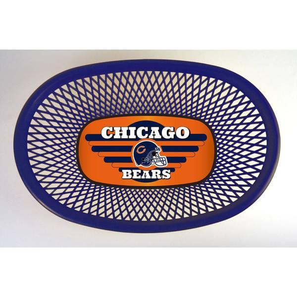 Chicago Bears Hamburger Baskets 4 - Pack