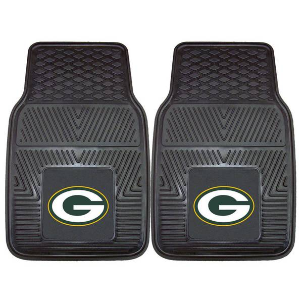Green Bay Packers Heavy Duty Vinyl Car Mats
