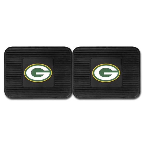 Green Bay Packers Backseat Utility Mats