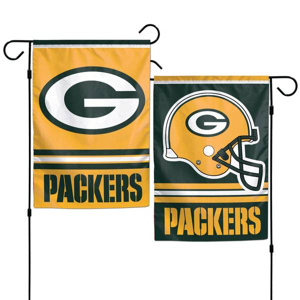 Green Bay Packers Double Sided Garden Flag Assortment