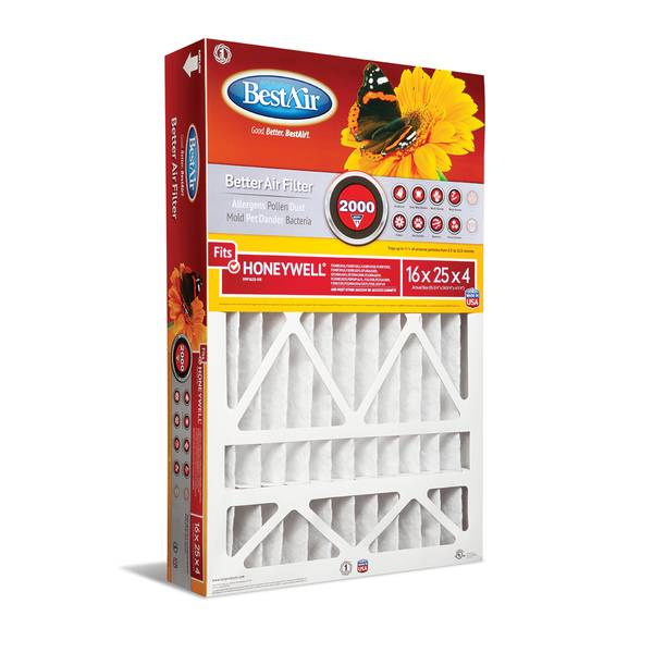 Extreme Allergens, Pollen & Dander Air Cleaning Filter For Honeywell