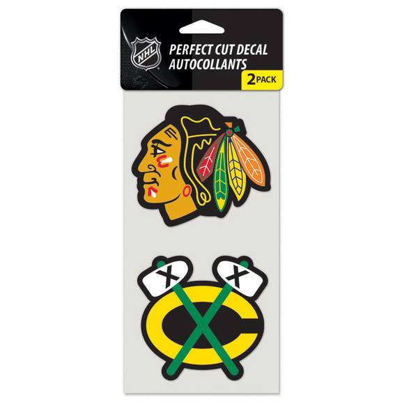 Chicago Blackhawks Die Cut Decal