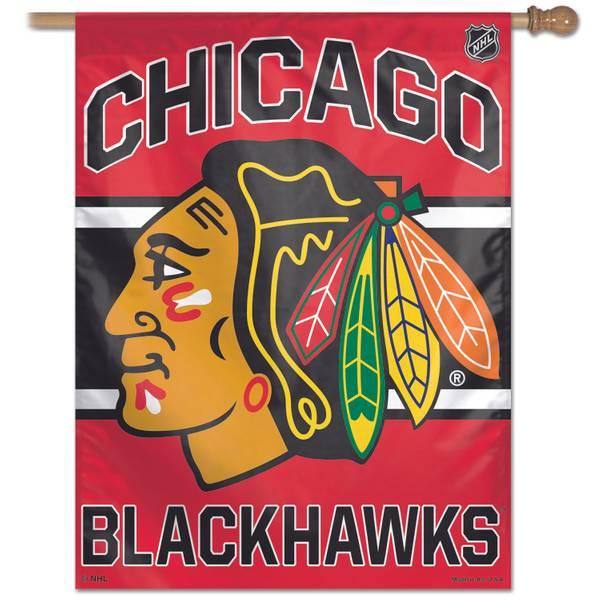 Chicago Blackhawks Vertical Banner