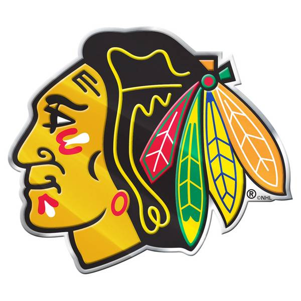 Chicago Blackhawks Color Emblem