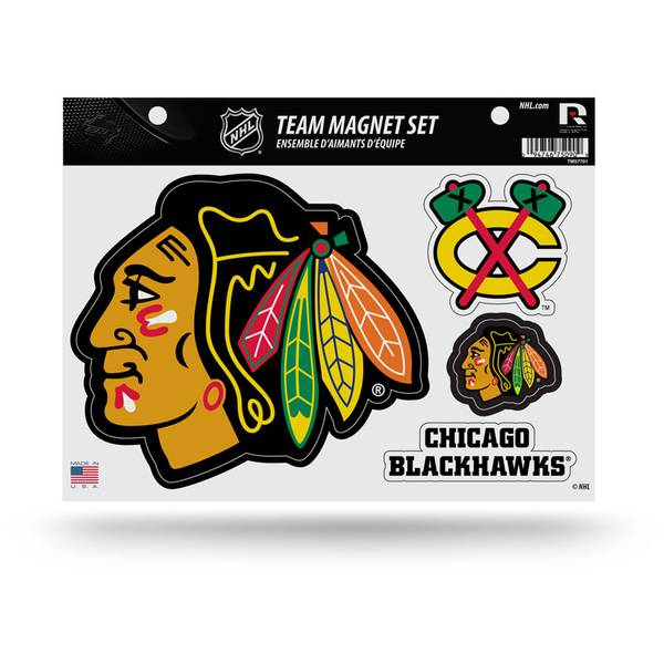 Chicago Blackhawks Team Magnet Sheet