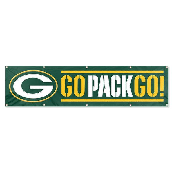 Green Bay Packers Embroidered Party Banner